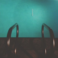 The night always ends by the pool in LA. #LAstyle