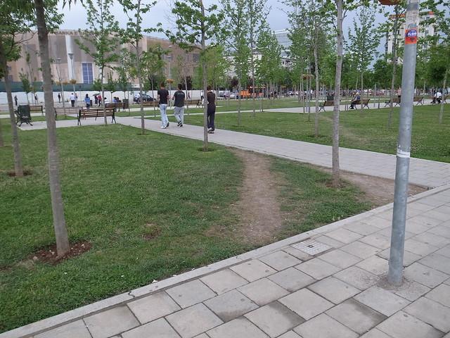 Desire Path, Tirana