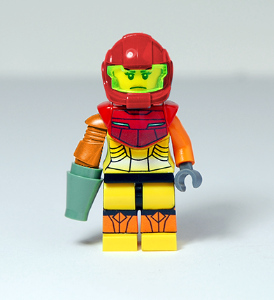 Lego Samus Aran from Metroid - YouTube