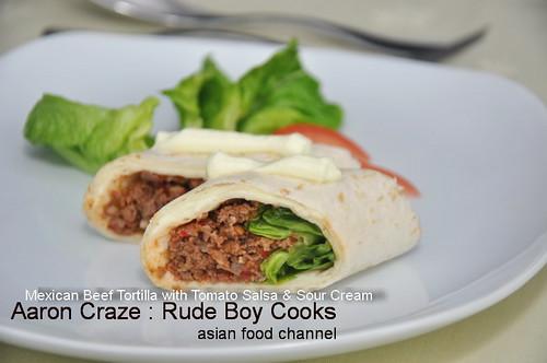 Aaron Craze Rude Boy Cooks Asian Food Channel 5