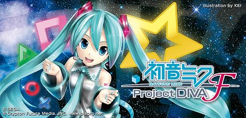 Hatsune Miku: Project Diva F on PS3