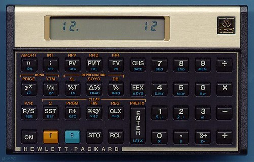 Calculadora HP 12C: Clasica Calculadora Financiera