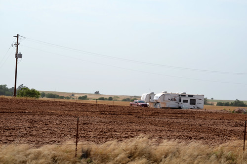campers are popping up in the middle of nowhere from Alva to Kiowa