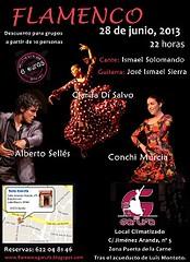 San Fernando, Murcia y Argentina se unen en el viernes flamenco de la Sala Garufa