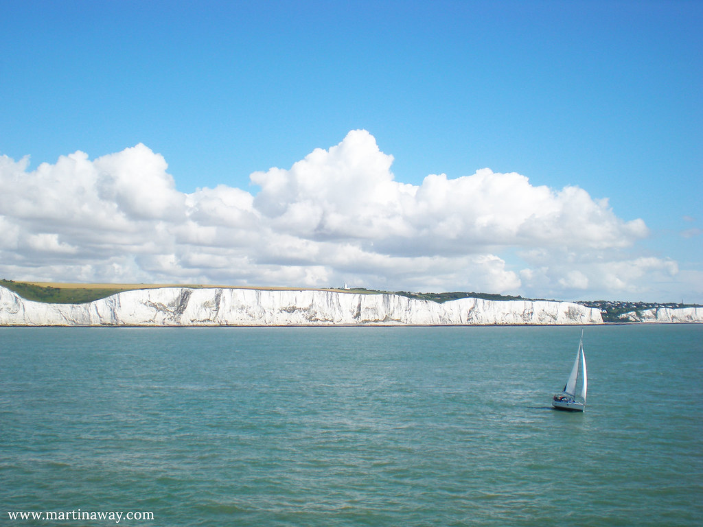 Floating near the White Cliffs.