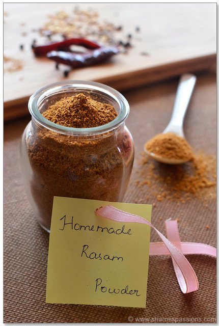 Make rasam powder at home