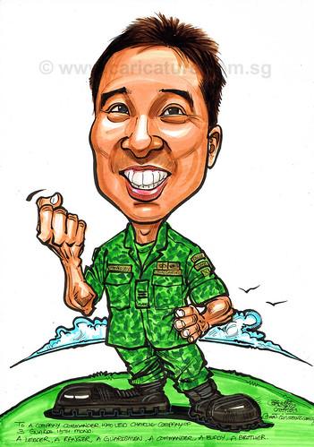 caricature før SAF