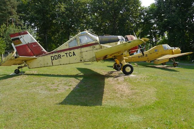 PZL-Mielec 106 Kruk und Let Z-37A Cmelak