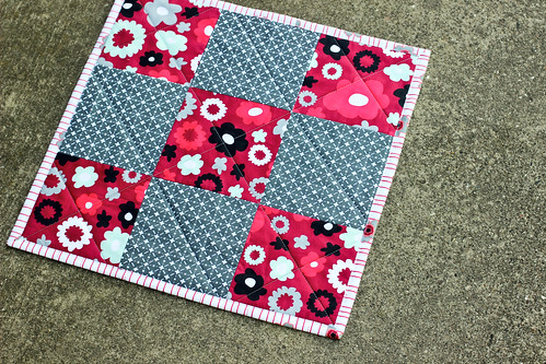 Nordika Mini Quilt by Jeni Baker