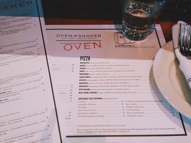 Oven & Shaker, Portland