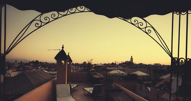 Marrakesh rooftops