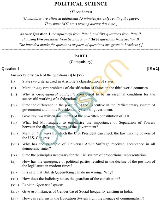 political science essay questions and answers I need help with my essay for political science please help me political science essay question answer questions.