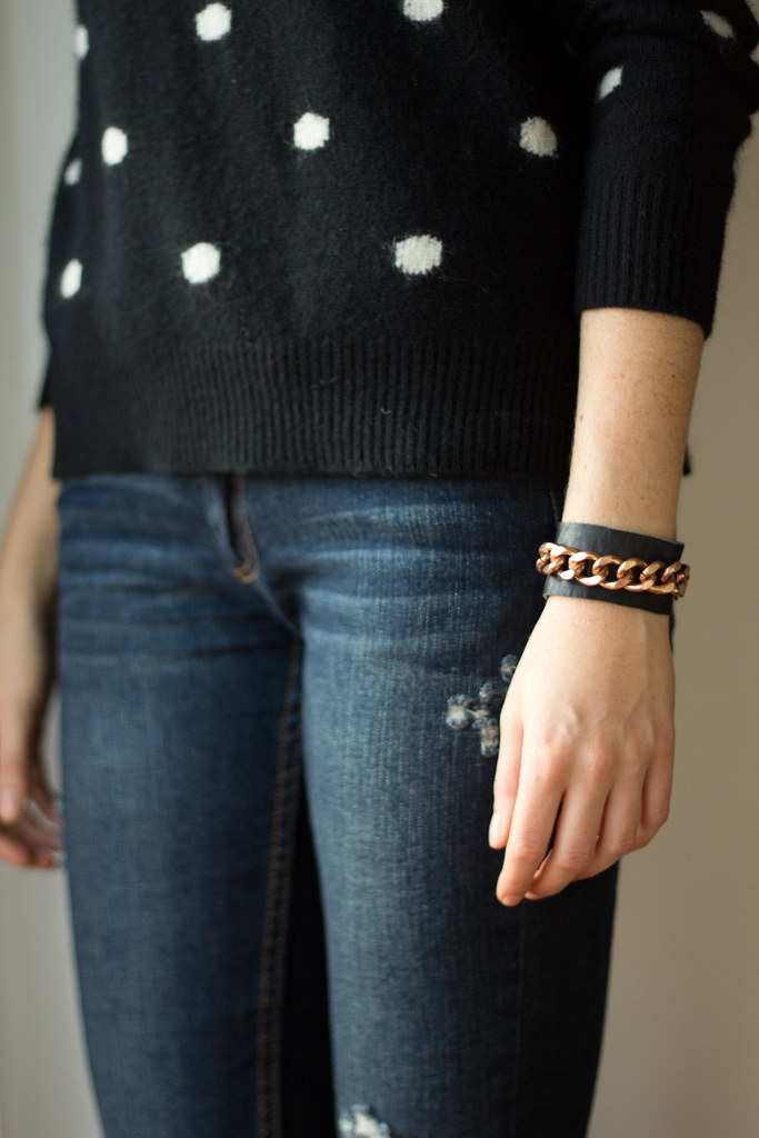 Chain leather cuff (7 of 7)