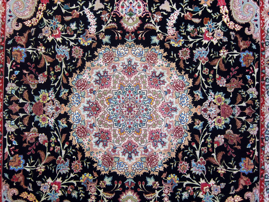 Shirfar Area Rug Tabriz Persian