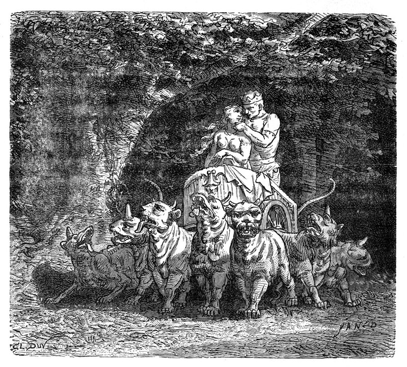 Jean-Edouard Dargent - Illustrations from Dante's Divine Comedy 1870 (11)