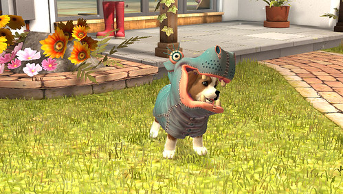 PlayStation Vita Pets Home Screen 01