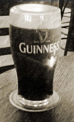 Pint of the black stuff.