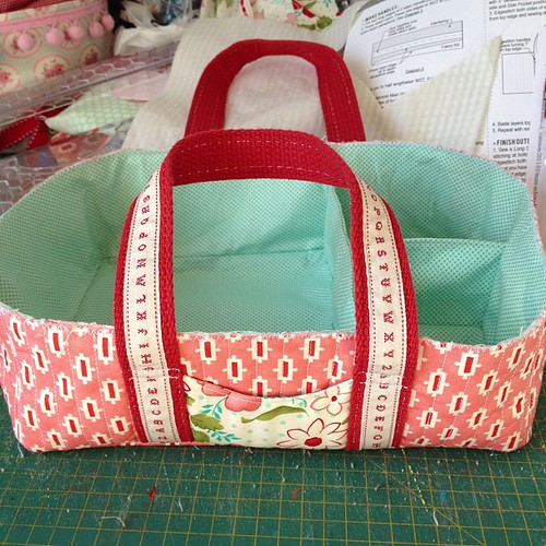 Social tote ready for binding