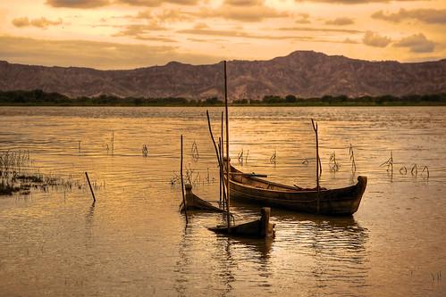 sunset river boat day burma myanmar pagan bagan irrawaddy ayeyarwady
