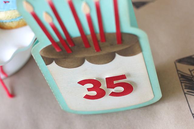 35! a tiny celebration.