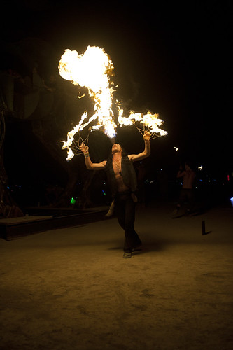 BURNING MAN PERFORMERS
