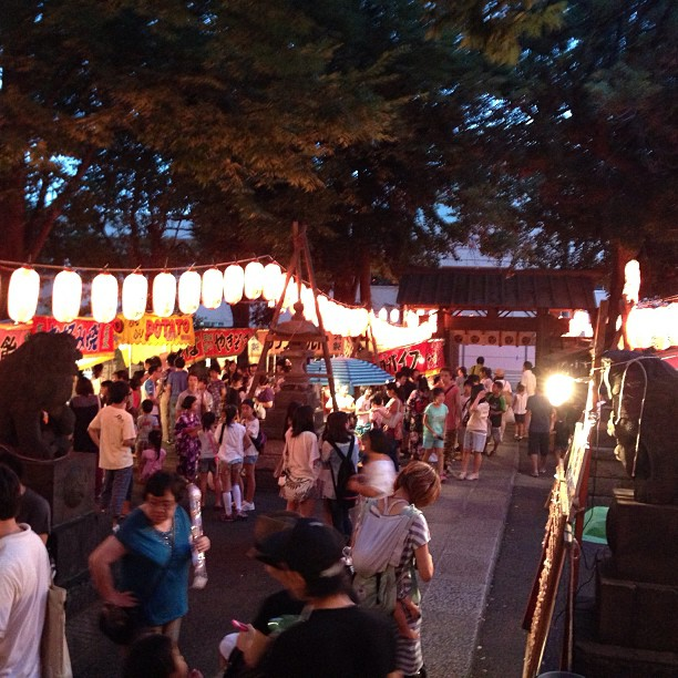 Autumn festival of Magome Hachiman shrine - 御参りしてきた