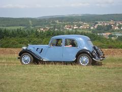 automobile, vehicle, citroã«n traction avant, antique car, sedan, vintage car, land vehicle, luxury vehicle,