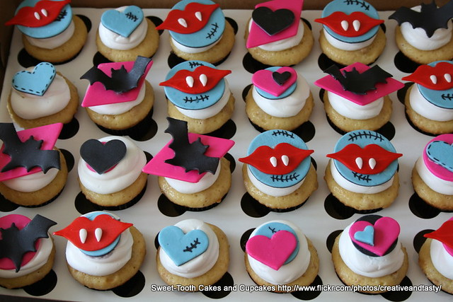how to make monster high cupcakes