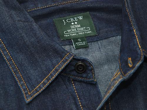 J.Crew / Denim Work Shirt
