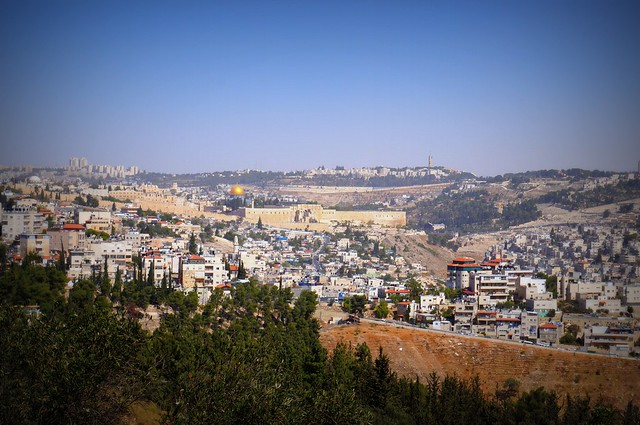 View of Jerusalem with the Dome of the Rock