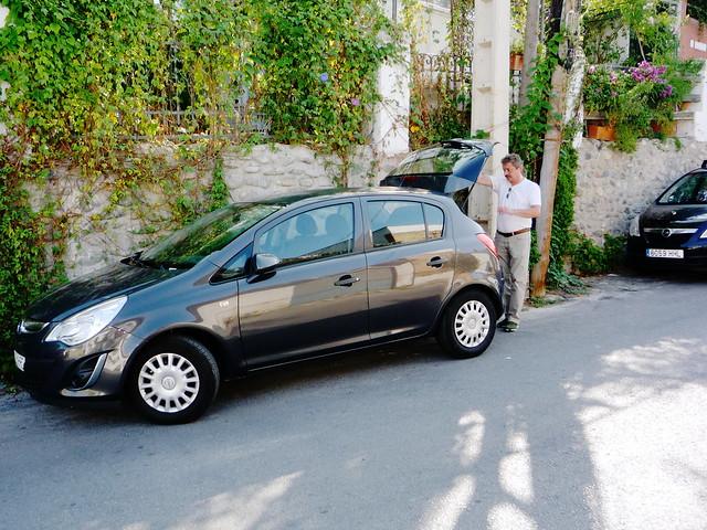 Sixt als Schmied der Günstiganbieter Opel Corsa