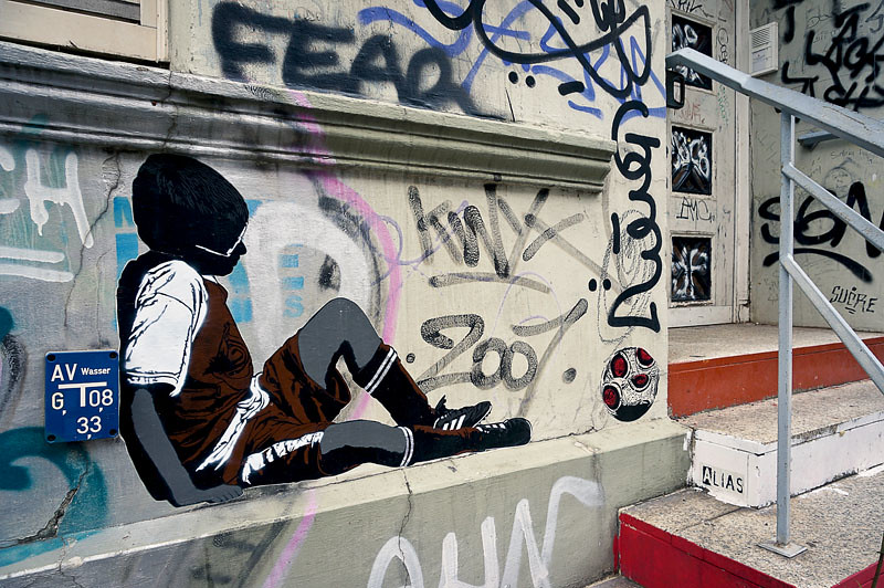 Knoten.13 Street Art Hamburg