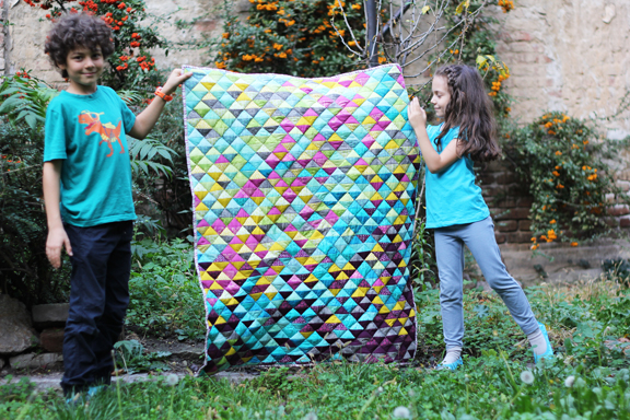 Likeflowersandbutterflies Half Square Triangle Quilt Tutorial