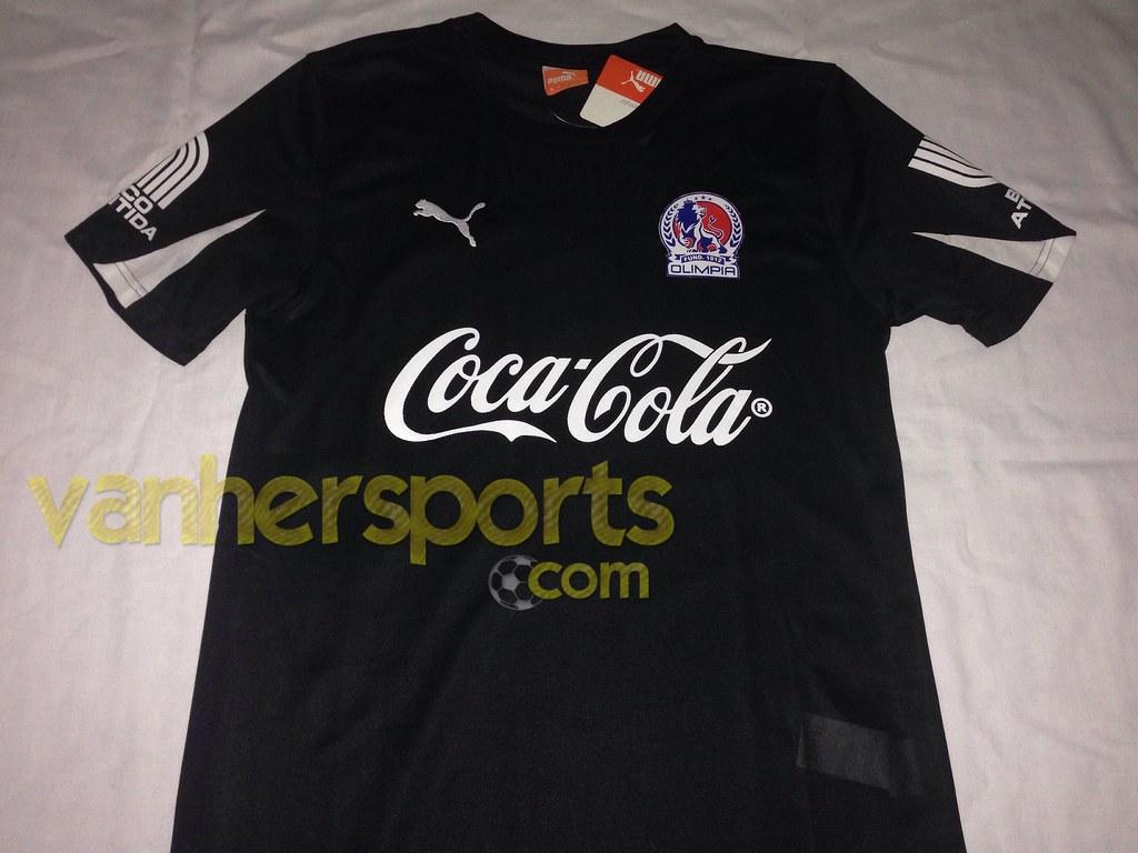 Camisa CD Olimpia Apertura 2013 Visita