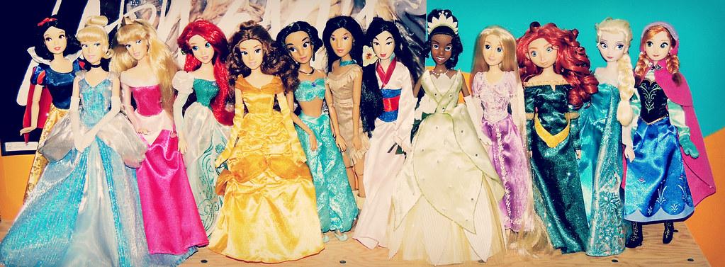 Disney Princess Line up