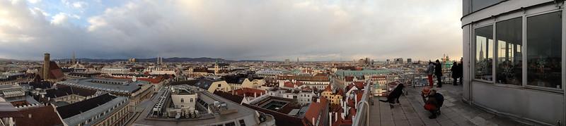 Panorama Vienna from Hoch Haus Dec 2013 - 2
