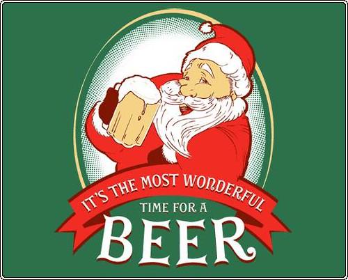 Santa likes beer!