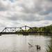 Railroad Swing Bridge by R Childress