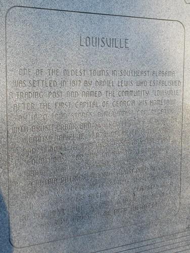 Louisville Monument (Louisville, Alabama)