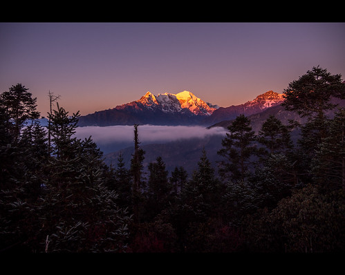 travel nepal sunset mountains nature trek landscape lumix scenery glow outdoor scenic olympus himalaya himalayas omd 1235 langtang helambu em5 gossainkunda