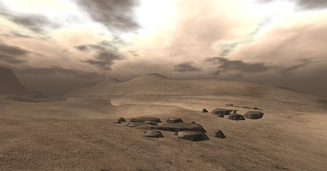 SL-Second Life Stock Images/Backgrounds-The Wastelands 04a