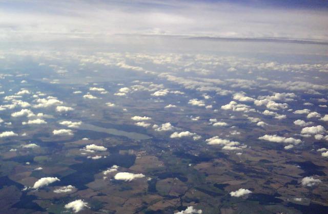 Neubrandenburg von oben