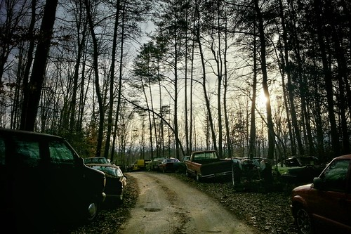 road trees sunset cars photography virginia woods lot samsung va fredricksburg 2014 phonography iphonography flickrandroidapp:filter=none galaxys3 themiddleofnofuckingwhere