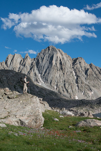 Visitors to Harrower Peak on the 392,160-acre Bridger Wilderness in Wyoming expect miles of uninterrupted views. Since 1988, the U.S. Environmental Protection Agency, states, and federal land management agencies, including the U.S. Forest Service, have conducted monitoring of air pollution and visibility impairment at a number of national parks and wilderness areas across the U.S. (U.S. Forest Service/Scott Copeland)