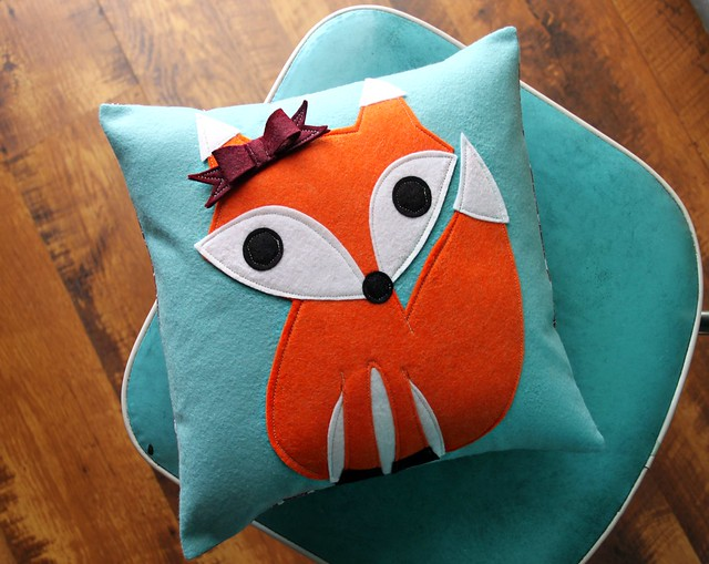Lady Fox Pillow
