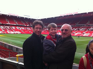 Man U tour - Robertsons at Old Trafford
