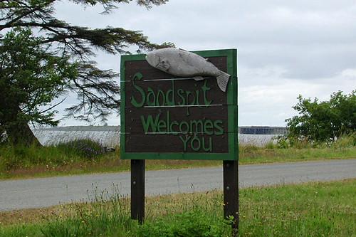 Sandspit, Moresby Island, Haida Gwaii (Queen Charlotte Islands), British Columbia, Canada