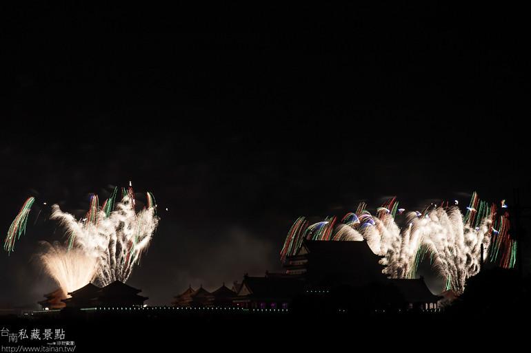 台南私藏景點-- 土城鹿耳門聖母廟煙火 (22)