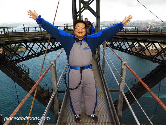 sydney harbour bridge placesandfoods middle arch