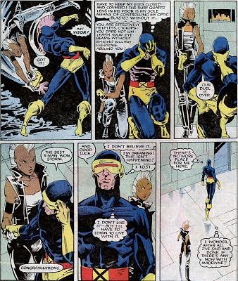 Storm beats Cyclops (Uncanny X-men 201)